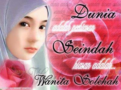 The existance of angel » wanita-solehah-sang-bidadari-surga